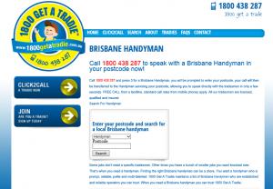 Handyman Brisbane   1800 Trade Directory